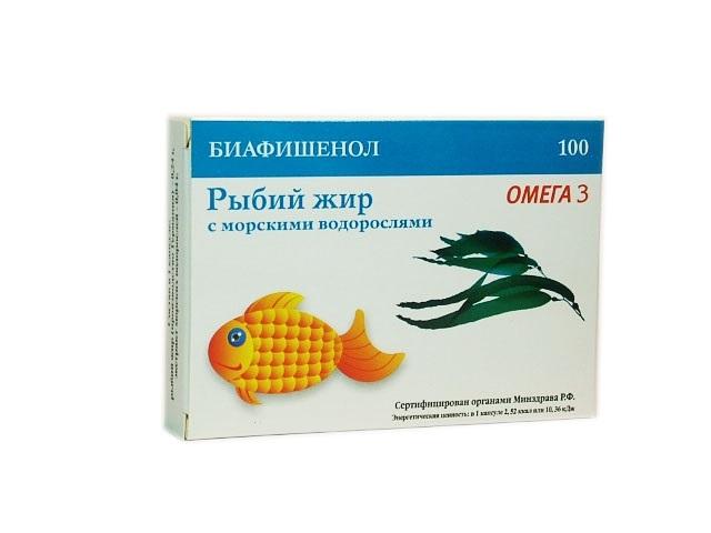 рыбий жир с водорослями