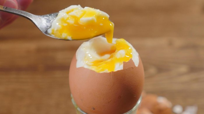 яйцо всмятку
